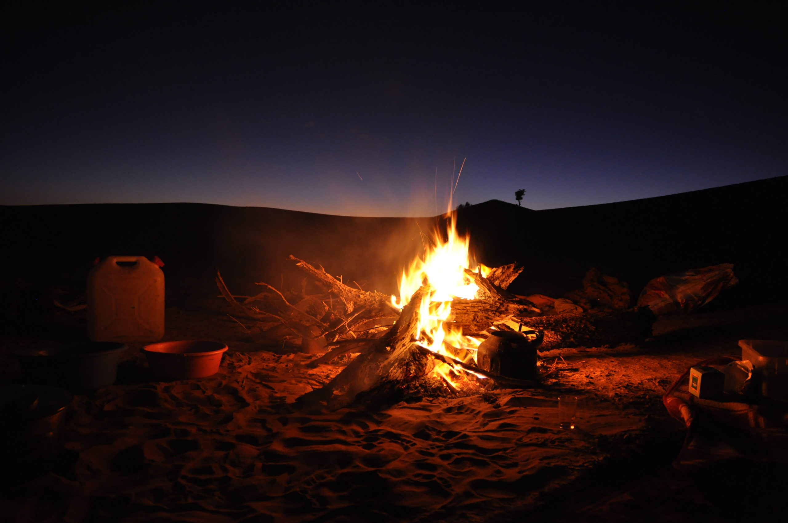 Soins énergétiques_L'énergie du feu dans le désert