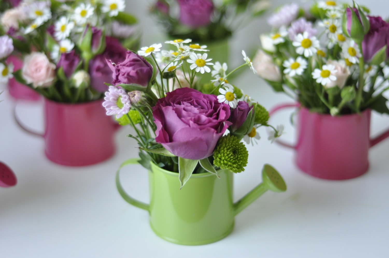 Cadeau d'invité Fleurs de printemps